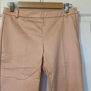 Pink ankle dress pants
